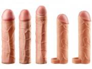 Realistické návleky na zvětšení penisu