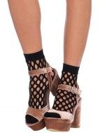 Erotické ponožky a podkolenky: Ponožky s velkými oky (Leg Avenue)