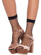 Erotické ponožky a podkolenky: Síťované ponožky (Leg Avenue)