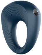 Vibrační erekční kroužky na penis: Vibrační erekční kroužek ze silikonu Satisfyer Vibro-Ring 2 - nabíjecí