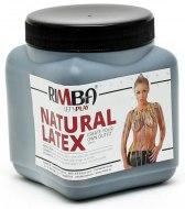 Latexové pomůcky a doplňky: Tekutý latex Rimba - černý (500 ml)