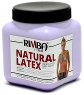 Latexové pomůcky a doplňky: Tekutý latex Rimba - fialový (500 ml)