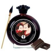 Bodypainting (barvy na tělo): Slíbatelný bodypainting Shunga Aphrodisiac Chocolate (100 ml)