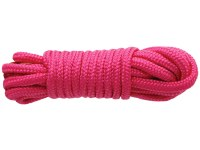 Bondage lana pro BDSM hrátky: Růžové lano na bondage SINFUL (7,6 m)