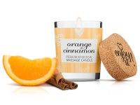 Svíčky s masážními oleji: Afrodiziakální masážní svíčka MAGNETIFICO - Enjoy it! (orange and cinnamon)