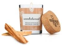 Svíčky s masážními oleji: Afrodiziakální masážní svíčka MAGNETIFICO - Enjoy it! (sandalwood)