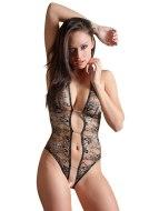 Sexy body: Průsvitné body s otevřeným rozkrokem a krajkou (Abierta Fina)