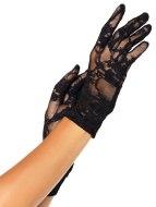 Sexy rukavice a návleky na ruce: Krátké krajkové rukavice (Leg Avenue)