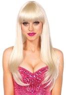Sexy paruky pro ženy i muže: Paruka s ofinou Bangin - blond, dlouhá (Leg Avenue)