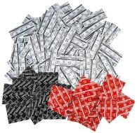 Cenově výhodné balíčky kondomů: Balíček kondomů Durex LONDON mix 50 ks (klasické, anální, jahodové)