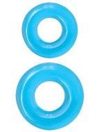 Nevibrační erekční kroužky: Sada erekčních kroužků Renegade Double Stack (2 ks)