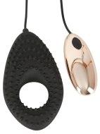Vibrační erekční kroužky na penis: Vibrační kroužek/stimulátor Couples Cushion (na dálkové ovládání)
