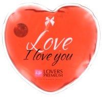 Masážní pomůcky a doplňky: Hřejivé masážní srdíčko I Love You (Lovers Premium)