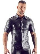 Pánské košile: Lesklá pánská košile s límečkem (Svenjoyment)