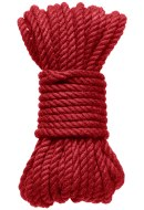 Bondage lana pro BDSM hrátky: Konopné lano na bondage KINK Hogtied Bind & Tie 30 ft, 9 m (červené)