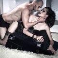 Podložka na sex s pouty Black Label Wedge/Ramp Combo (Liberator)