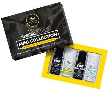 Testovací sada lubrikačních gelů Pjur Mini Collection (4x 10 ml)
