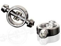 Skřipce a svorky na bradavky: Magnetické svorky na bradavky Metal Worx (Pipedream)