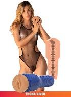 Umělé vaginy bez vibrací: Umělá vagina Shona River Pornstar (Private)