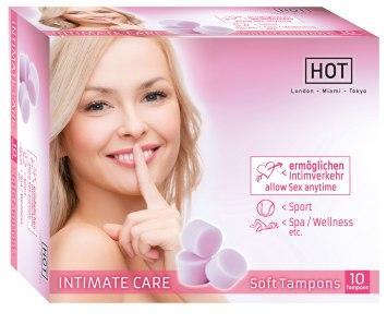 Menstruační houbičky Intimate Care (10 ks)
