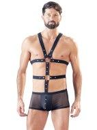 Boxerky: Průsvitné boxerky s páskovým postrojem (Svenjoyment)