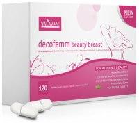 Potravinové doplňky: Tablety pro zvětšení a zpevnění poprsí Decofemm beauty breast