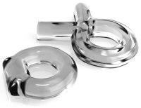 Nevibrační erekční kroužky: Sada erekčních kroužků Classix Couples (Pipedream)