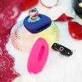 Vibrační stimulátor klitorisu Candy + erekční kroužek Dante (ovládaný mobilem)