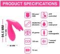 Vibrační stimulátor do kalhotek Eidolon (ovládaný mobilem)