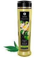 Erotické masážní oleje: Slíbatelný masážní olej Shunga ORGANICA Exotic Green Tea (240 ml)