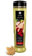 Erotické masážní oleje: Slíbatelný masážní olej Shunga ORGANICA Maple Delight (240 ml)