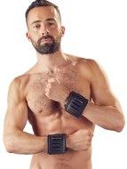 Pouta na ruce: Široká kožená pouta na ruce (ZADO)