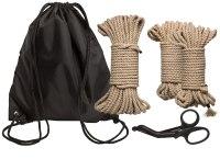 Bondage lana pro BDSM hrátky: Sada na provazovou bondage KINK Bind & Tie Initiation Kit