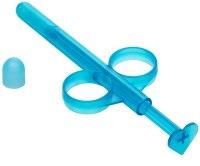Anální hygiena, klystýry: Aplikátor lubrikačního gelu Lube Tube - modrý (2 ks)