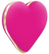 Vibrátory na klitoris: Vibrační stimulátor klitorisu Heart Vibe French Rose (Rianne S)