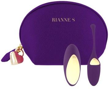 Vibrační vajíčko na dálkové ovládání Pulsy Playball Deep Purple (Rianne S)