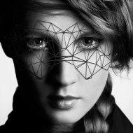Škrabošky, čelenky a masky: Škraboška Bijoux Indiscrets Kristine