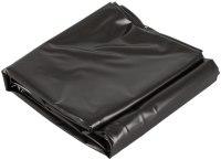 Lakované ložní prádlo (lack, vinyl): Měkčené lakované vinylové prostěradlo (200 x 230 cm), černé