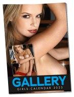 Vzrušující erotické kalendáře: Nástěnný kalendář GALLERY GIRLS na rok 2022