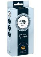 Tenké kondomy: Kondomy MISTER SIZE 53 mm (10 ks)