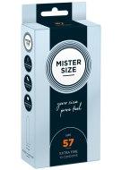 Tenké kondomy: Kondomy MISTER SIZE 57 mm (10 ks)