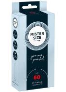Tenké kondomy: Kondomy MISTER SIZE 60 mm (10 ks)