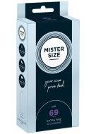 XL a XXL kondomy: Kondomy MISTER SIZE 69 mm (10 ks)