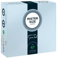Malé kondomy: Kondomy MISTER SIZE 47 mm (36 ks)