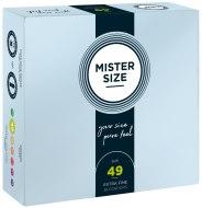 Malé kondomy: Kondomy MISTER SIZE 49 mm (36 ks)