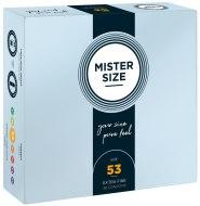 Tenké kondomy: Kondomy MISTER SIZE 53 mm (36 ks)