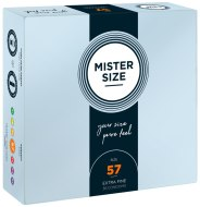 Tenké kondomy: Kondomy MISTER SIZE 57 mm (36 ks)