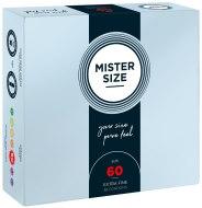 Tenké kondomy: Kondomy MISTER SIZE 60 mm (36 ks)
