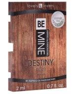 Feromony pro muže: Parfém s feromony pro muže BeMINE Destiny (VZOREK)