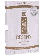 Feromony pro ženy: Parfém s feromony pro ženy BeMINE Destiny (VZOREK)